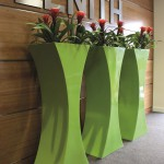 Sophia Planter with Guzmania Plants