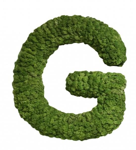 Moss Letter G
