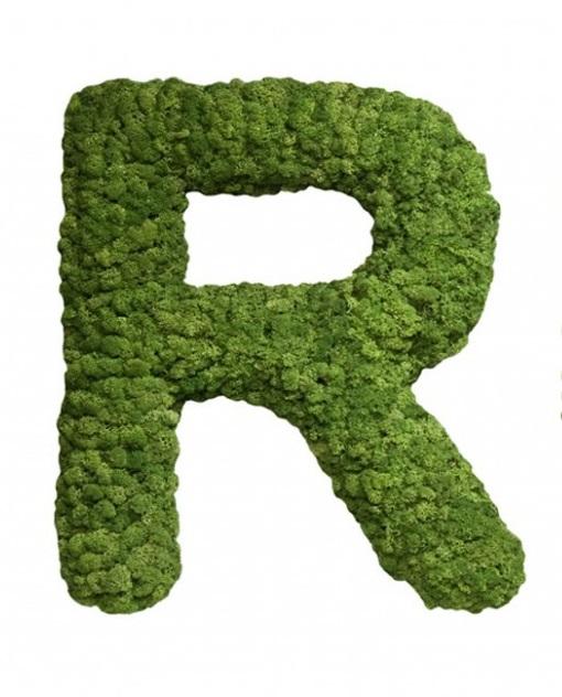 Moss Letter R