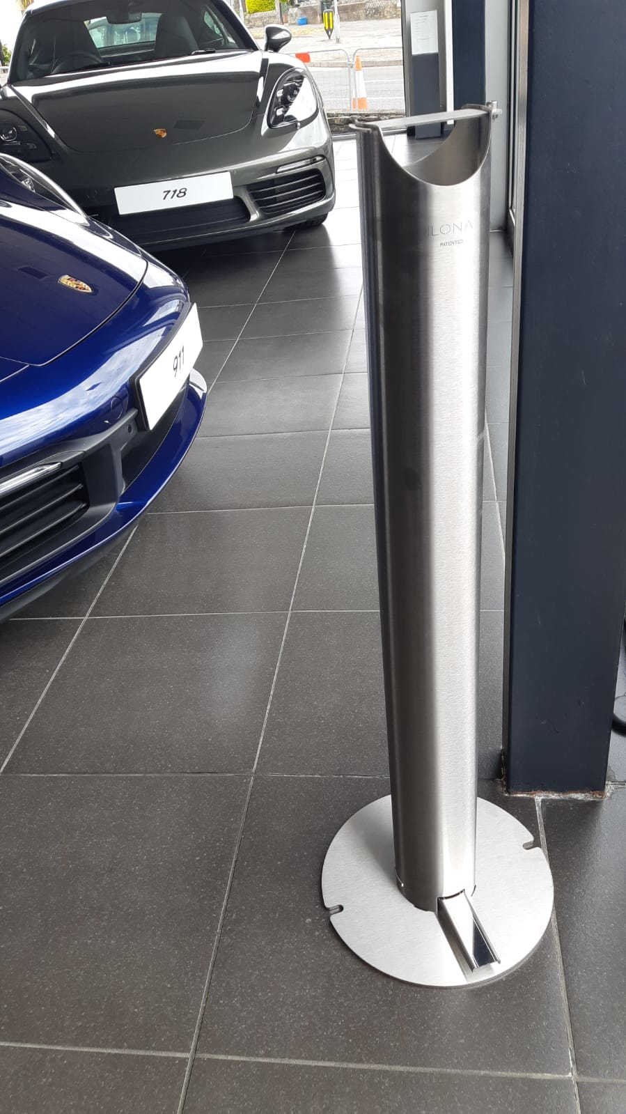Ilone Hand Sanitiser Car Showroom 1